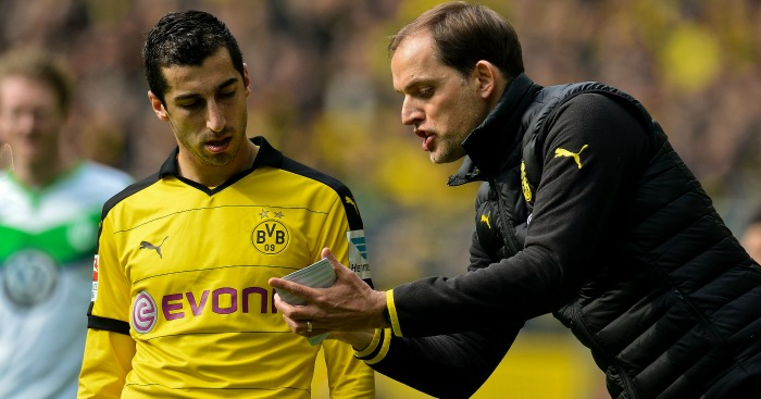 Henrikh Mkhitaryan: In talks to leave Thomas Tuchel's side