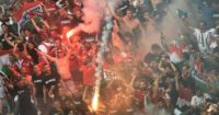 Hungary: Fans set off fireworks in draw against Iceland