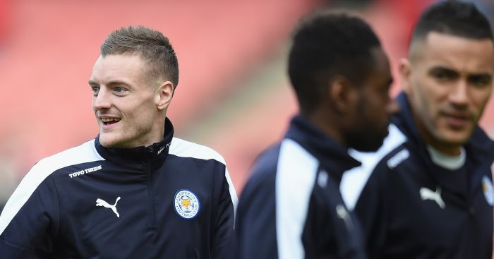 Jamie Vardy: Head turned by Arsenal?