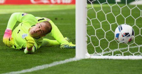 Joe Hart: Could not keep Bale's free-kick out