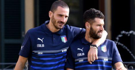 Leonardo Bonucci and Antonio Candreva: Linked with Chelsea