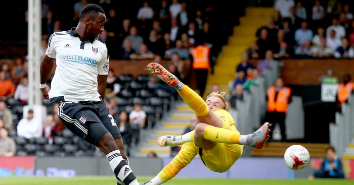 Moussa Dembele: Striker caught the eye at Fulham