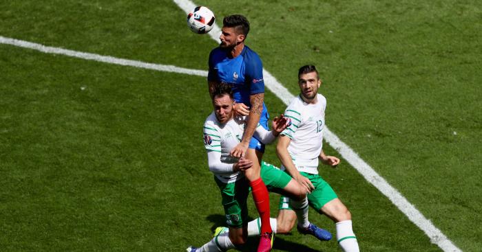 Olivier Giroud: Striker created France's second goal