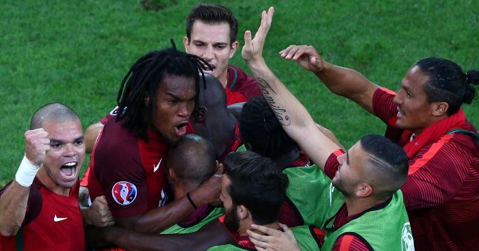 Renato Sanches: Brought Portugal back level