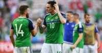 Stuart Dallas & Kyle Lafferty: No way through for Northern Ireland