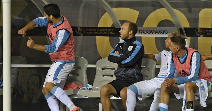 Luis Suarez: Lost his temper