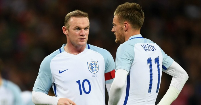 Wayne Rooney and Jamie Vardy: Selection issues for England