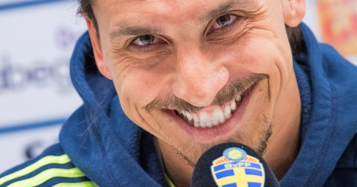 Zlatan Ibrahimovic: Will not leave Sweden camp