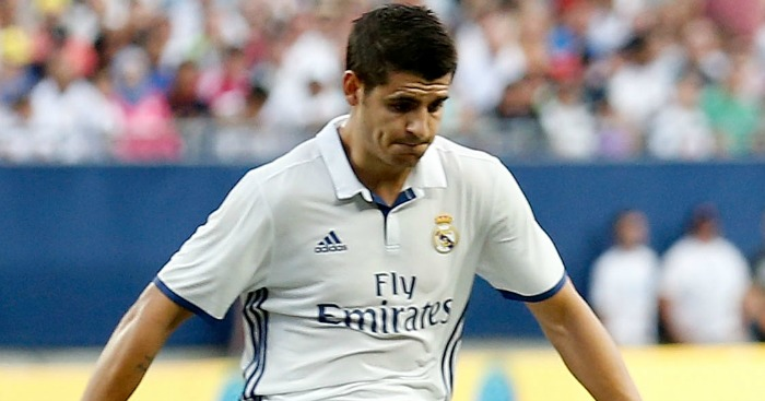 Alvaro Morata: Subject to a £45m bid from United