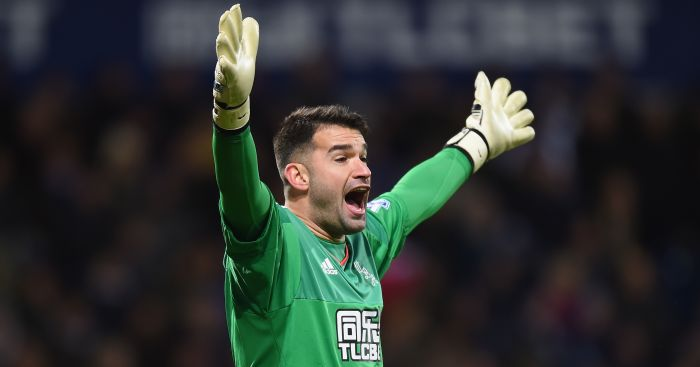 Boaz Myhill: Extends stay with Baggies