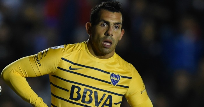 huge selection of 85c8b a4abf Carlos Tevez in shocking admission over £650k a week China ...