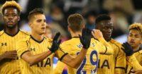 Erik Lamela: Second-half goal in vain