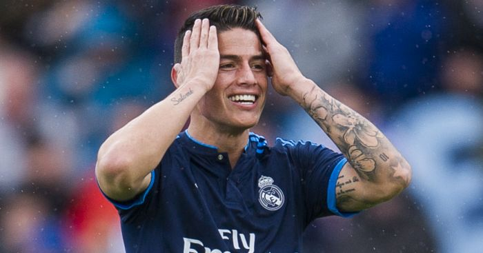 James Rodriguez: Not leaving Real on loan
