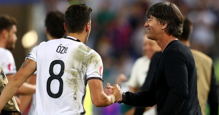 Joachim Low: Congratulates Mesut Ozil