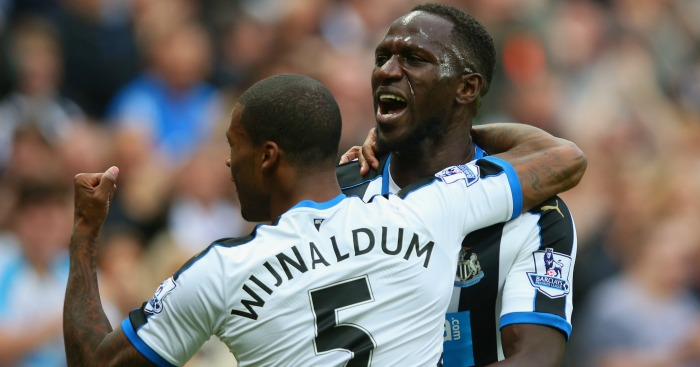 Moussa Sissoko, Georginio Wijnaldum: Tipped to leave Newcastle
