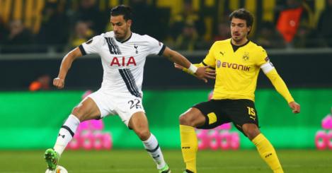 Nacer Chadli: Linked with Dortmund and Swansea