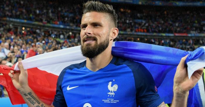 Olivier Giroud: Striker has scored three times at Euro 2016