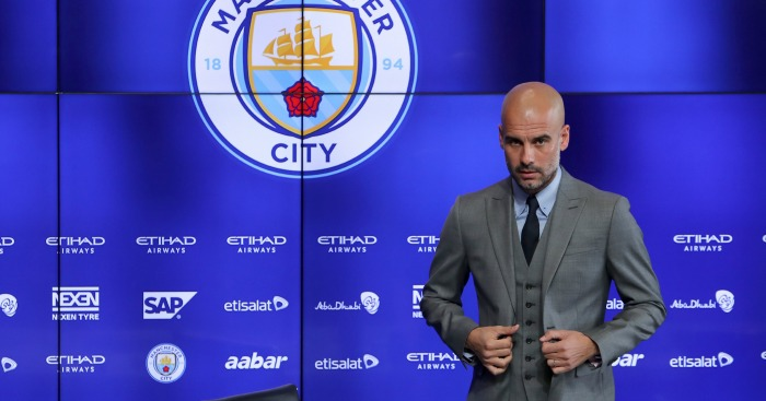 Pep Guardiola: Banned overweight players