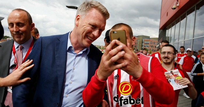 David Moyes: Struggling to impress at Sunderland