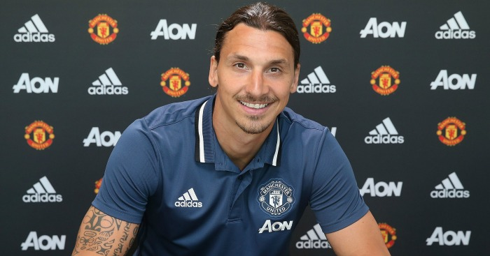 Zlatan Ibrahimovic: Joined Man Utd on a free