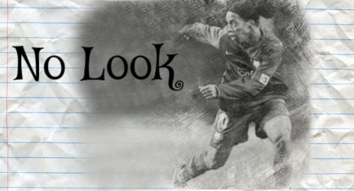 Ronaldinho no-look