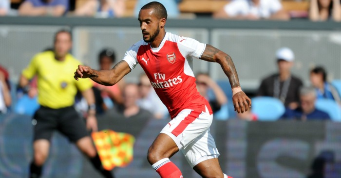 Theo Walcott: Now a right winger again