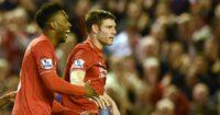 Daniel Sturridge and James Milner: Duo could return