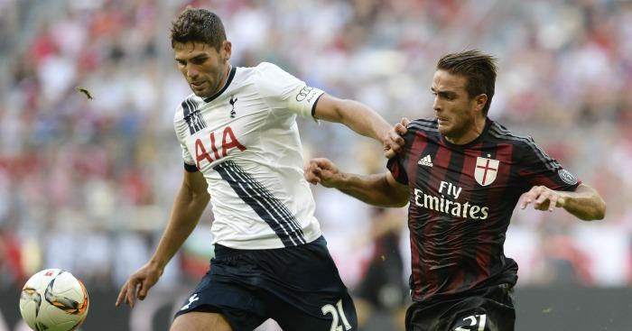 Federico Fazio: Defender made 32 appearances for Spurs
