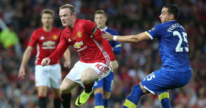 Wayne Rooney: Faced former club in testimonial