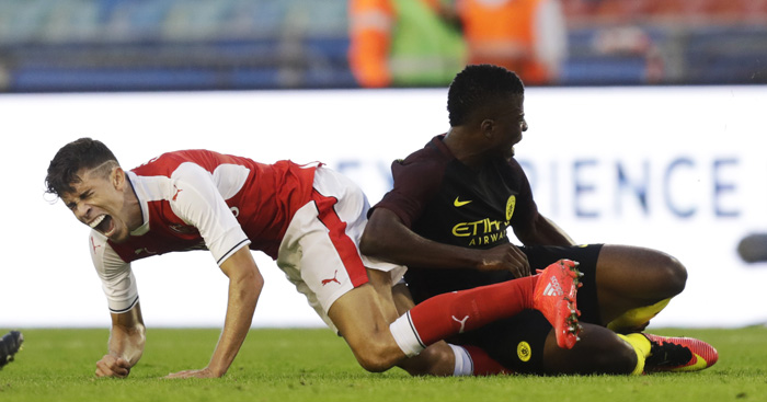 Gabriel: Wenger admits worry over injury