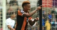 Abel Hernandez: Celebrates Hull's second