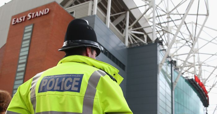 Old Trafford: Rack up policing fees