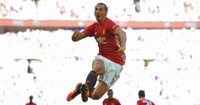Zlatan Ibrahimovic: Promising start to Man Utd career