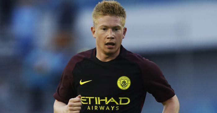 Kevin de Bruyne: Hails new forward