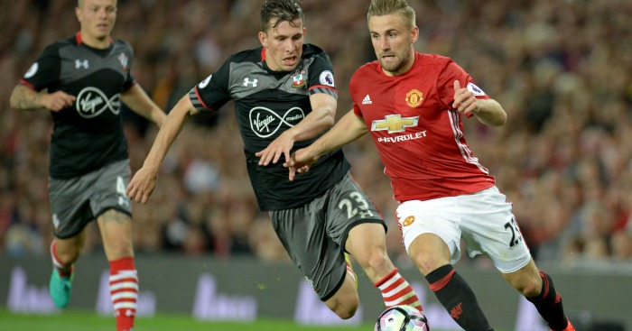 Luke Shaw: Taking it one game at a time