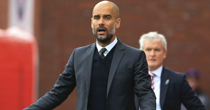 Pep Guardiola: Pleased with Monchengladbach win