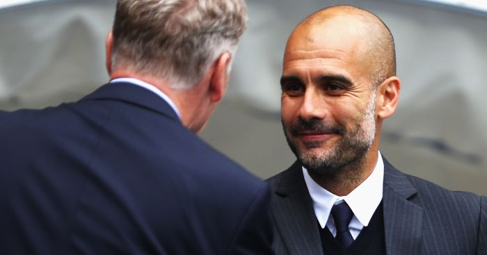 Pep Guardiola: All smiles in first Premier League game