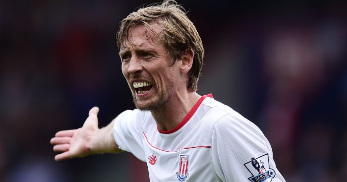 Peter Crouch: Hat-trick on rare start
