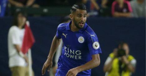 Riyad Mahrez: Winger keen to push through move to Barca