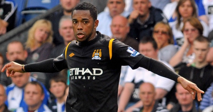 Robinho was Man City's record signing