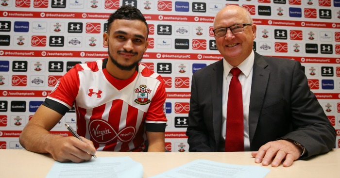 Sofiane Boufal: Joins Saints for record fee