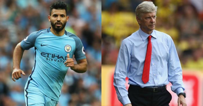 Sergio Aguero & Arsene Wenger: Both criticised this week