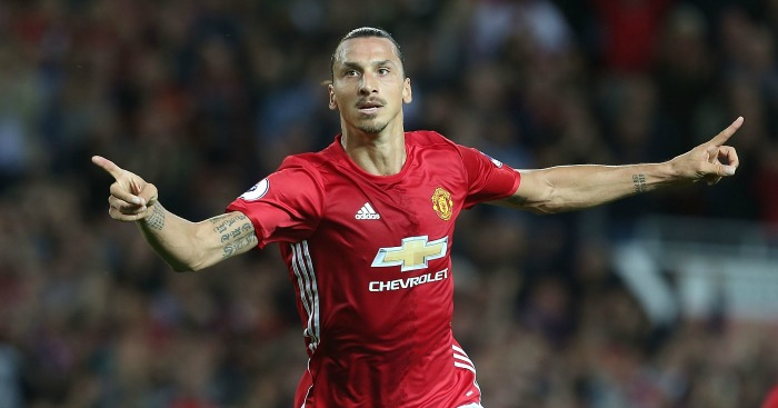 Zlatan Ibrahimovic: Doing his best to turn Manchester red
