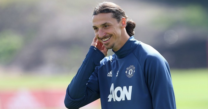 Zlatan Ibrahimovic: Striker signed a two-year deal