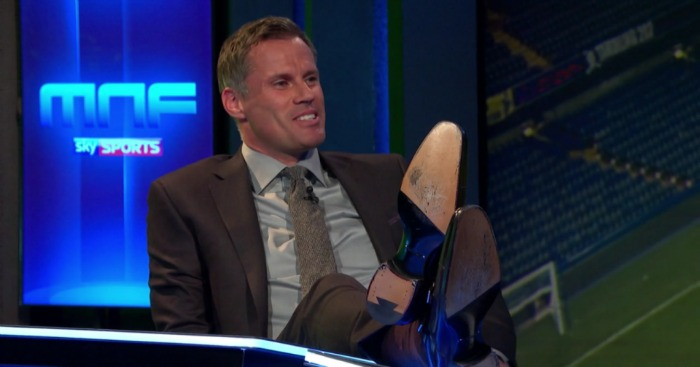 Jamie Carragher: Loved watched GNev squirm