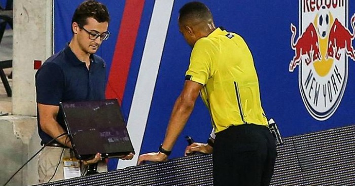 VAR technology: Made its bow