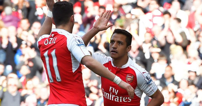 Sanchez and Ozil: Have 18 months left on existing deals