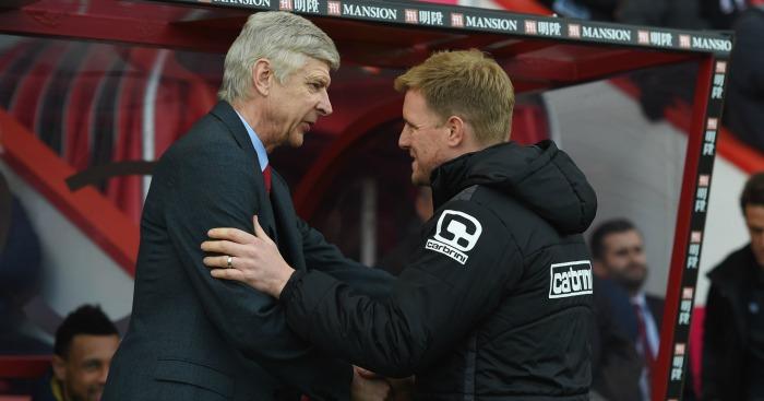 Arsene Wenger & Eddie Howe: Potential England candidates