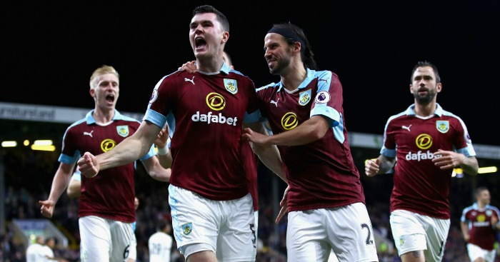 Michael Keane: Bags second in comfortable win