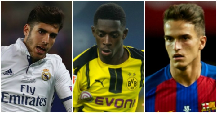 Asensio, Dembele & Suarez: First taste of the CL